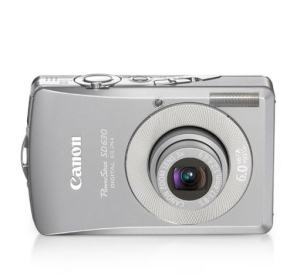 Canon PowerShot SD630 Manual User Guide and Product Specification