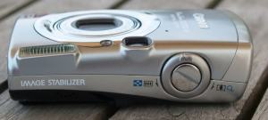 Canon PowerShot SD700 IS Manual - camera side