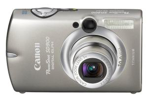 Canon PowerShot SD900 Manual - camera front face