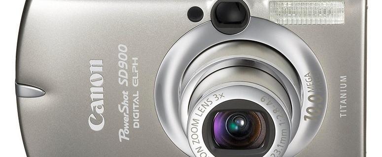 Canon PowerShot SD900 Manual - camera front face