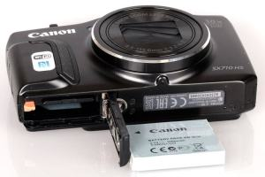 Canon PowerShot SX710 HS Manual - camera side