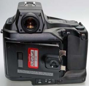 Nikon E2N Manual - rear side