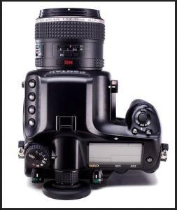Pentax 645D Manual - camera top plate