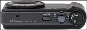 Sony DSC H70 Manual - camera side