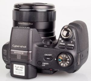 Sony DSC HX200V Manual - camera top plate