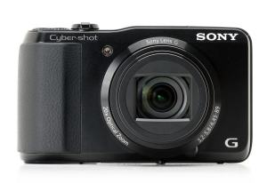 Sony DSC-HX20V Manual - camera front face