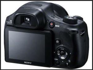 Sony DSC-HX300 Manual - camera rear side