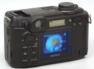 Sony DSC-HX400V Manual - camera rear side