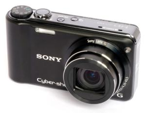 Sony DSC HX5 Manual - camera front face