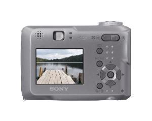 Sony DSC S60 Manual - camera rear side