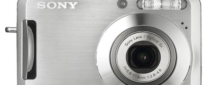 Sony DSC S700 Manual - camera front face