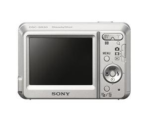 Sony DSC-S930 Manual - camera rear side