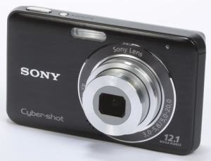 Sony DSC W310 Manual - camera front face