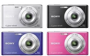 Sony DSC W530 Manual - camera variants