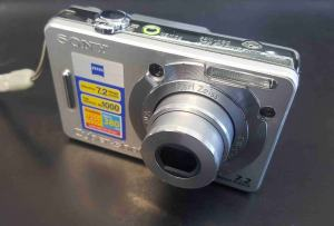 Sony DSC W55BDL Manual User Guide and Product Specification