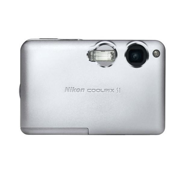 Nikon CoolPix S1 Manual - camera front face
