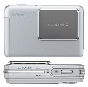 Nikon Coolpix S2 Manual - camera front and side