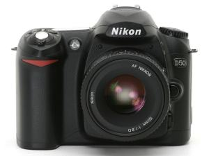 Nikon D50 Manual User Guide and Product Specification