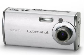 Sony DSC L1 Manual - camera front face