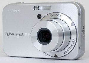 Sony DSC N1 Manual - camera front face
