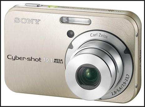 Sony DSC N2 Manual - camera front side