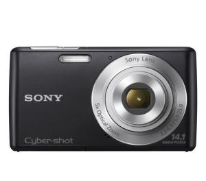 Sony DSC W620 Manual - camera front face