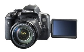 DSLR for beginner: Canon 750D