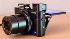 Sony Cyber-shot RX100 V : Camera's Screen