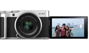 Fujifilm X-A7: Camera's LCD