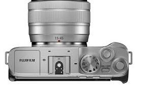 Fujifilm X-A7: Camera's Button