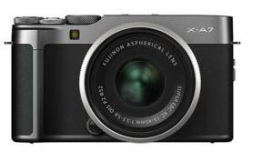 Fujifilm X-A7: Camera's Body