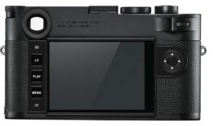 LCD of Leica M10 Monochrom