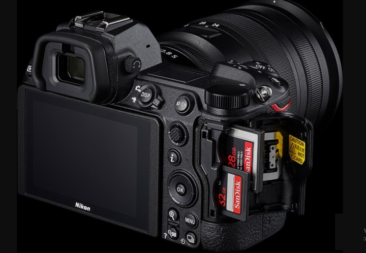 Nikon Z7 II Manual - double card slots