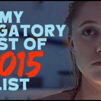 "My Obligatory ""Best of 2015"" List!"