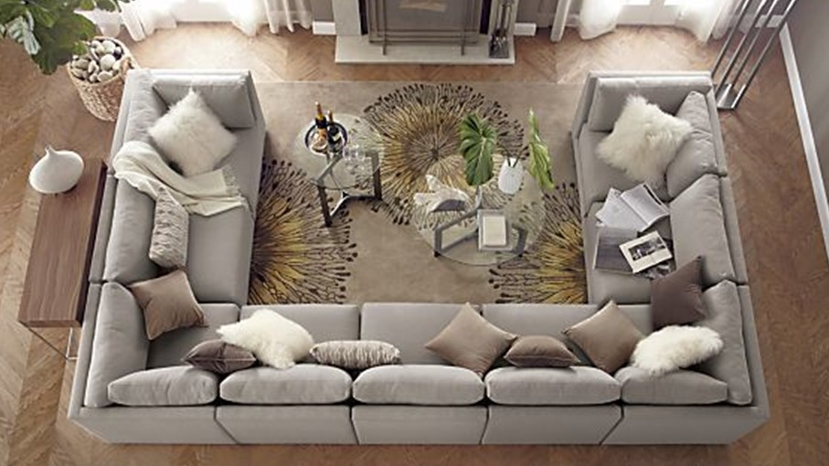 c shaped sofa designs 100 leather sofas how to master the u shape modern designer furniture and