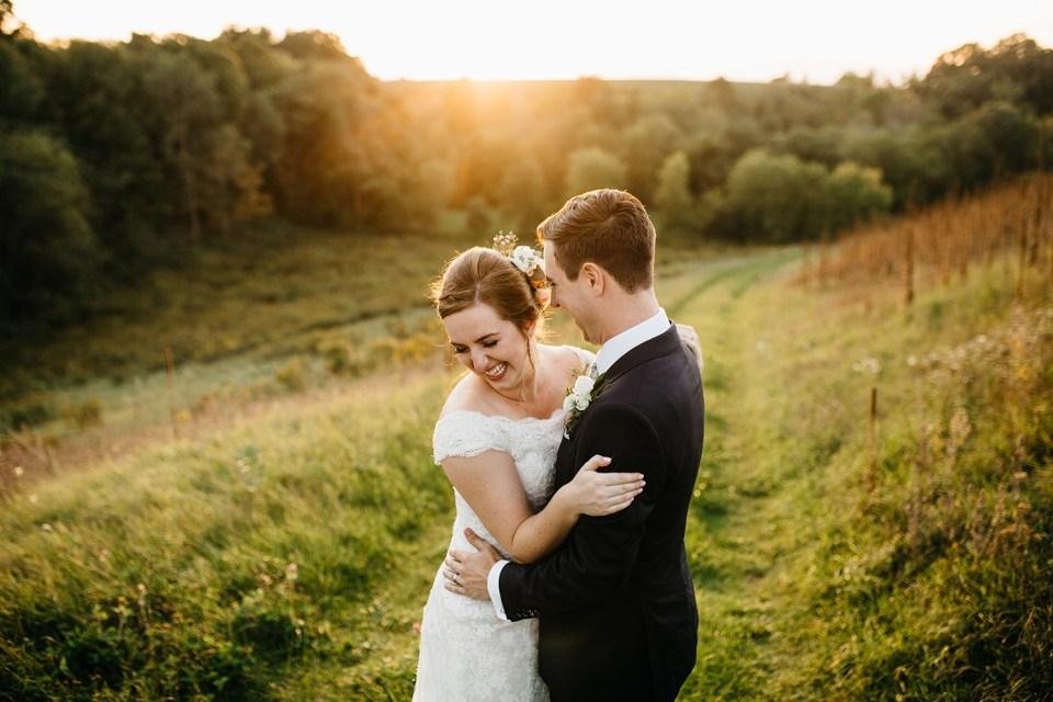 Cameron and Tia our wedding