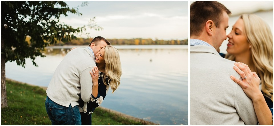 Lake Harriet Fall Engagement Session