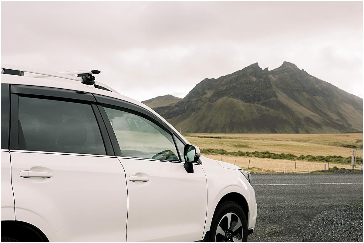 Iceland See C & T Travel Destination Elopement Wedding Photographer Van Life