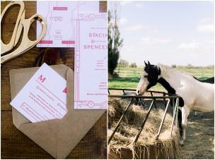 Terra Nue Farm Off beat bride non-traditional outdoor hipster wedding beautiful invitation suite