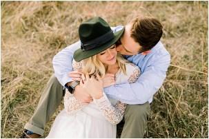 Romantic Eden Prairie Bluffs Couples Session