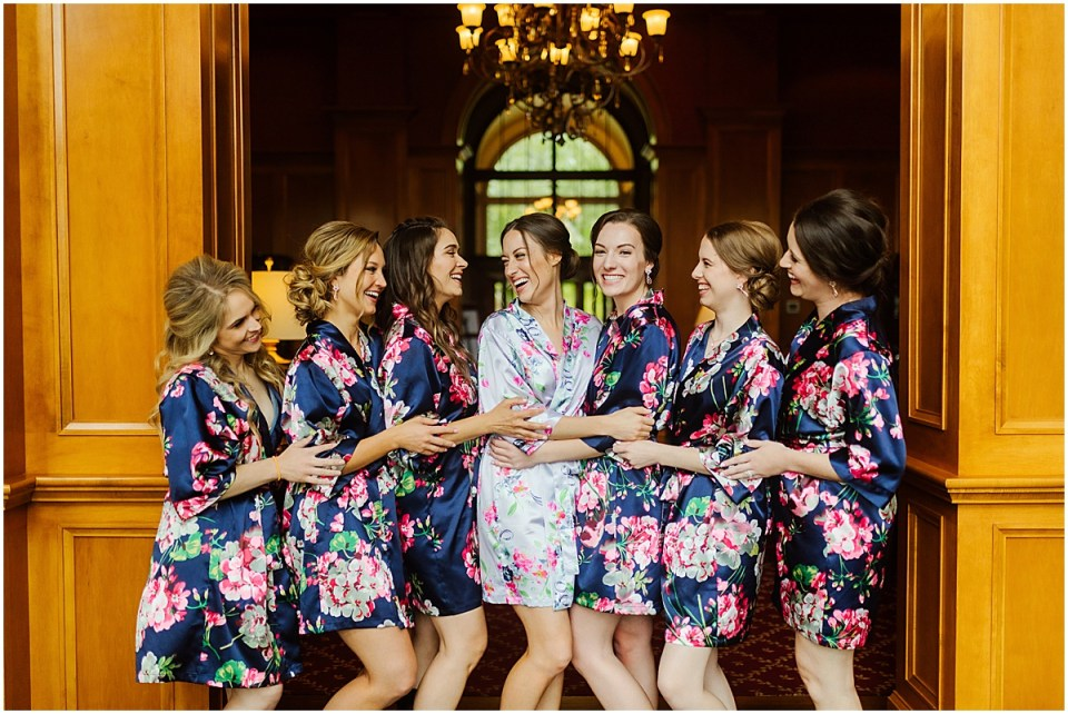 Bearpath Golf and Country Club Spring Wedding bridesmaids
