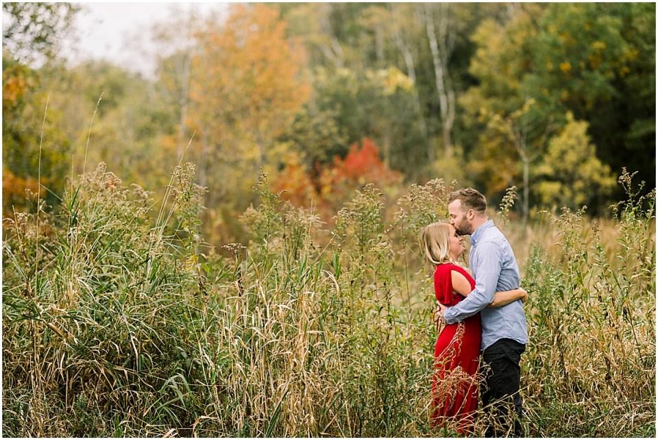 Lebanon Hills Regional Park Engagement Session in the Minnesota Fall