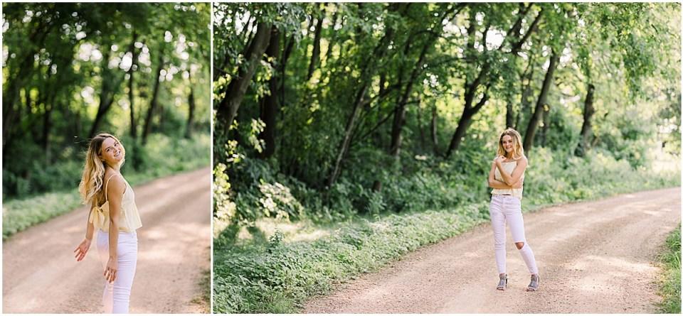 Arboretum Three Mile Drive Senior Session