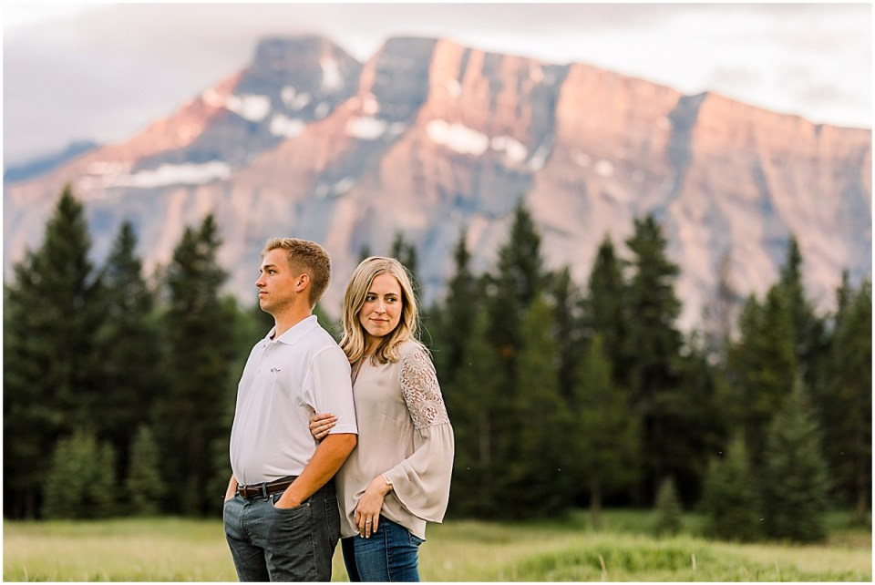 Banff National Park Destination Engagement Session by Cameron and Tia