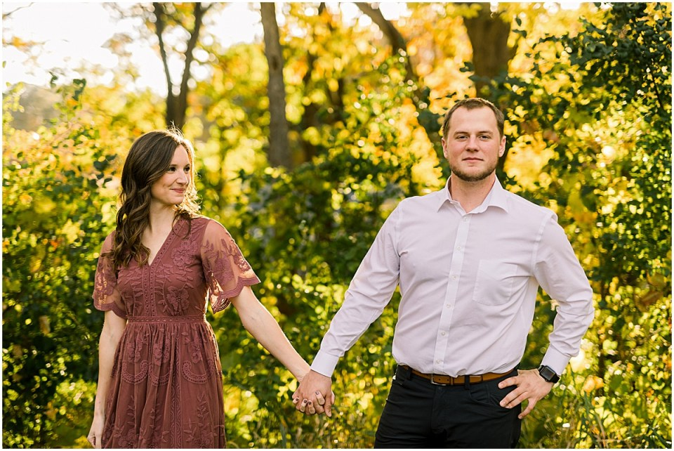 Theodore Wirth Park Minneapolis Engagement Session
