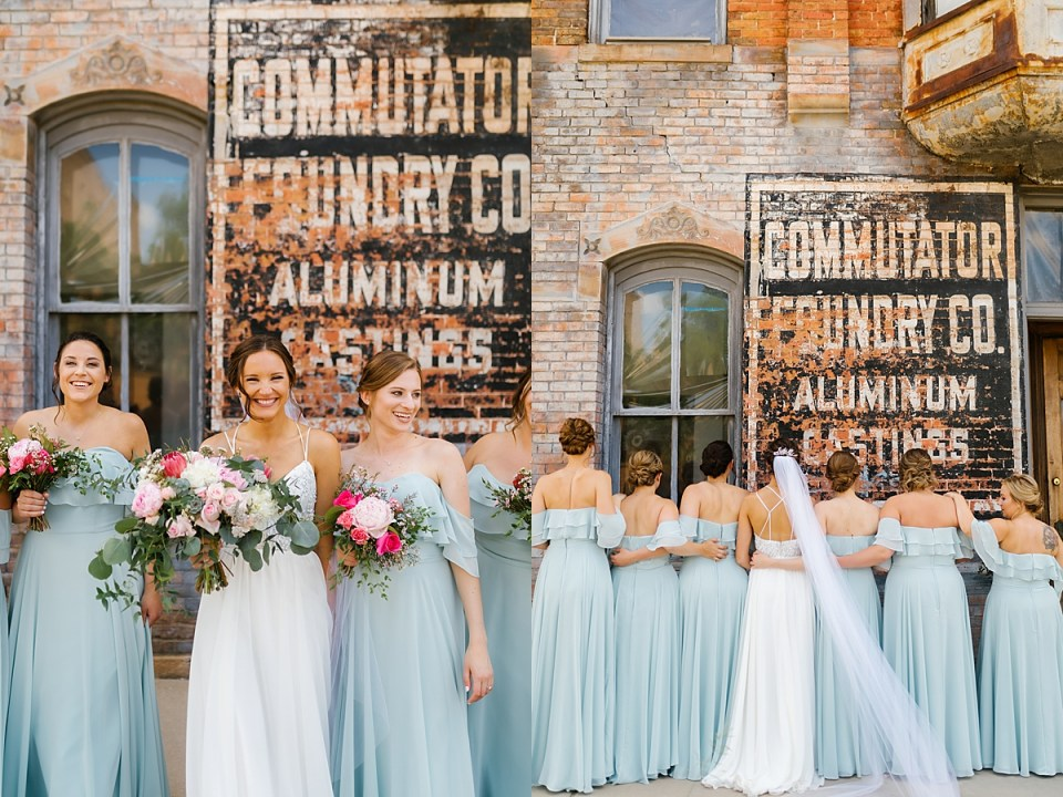Aria Minneapolis North Loop Bridal Party
