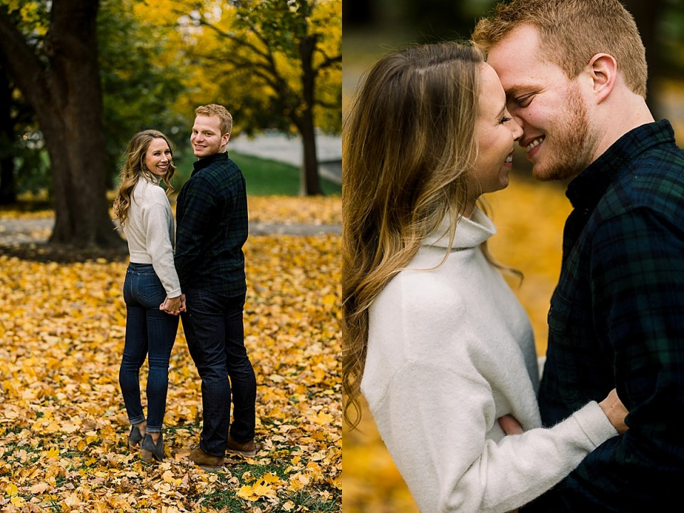 Lincoln Park Fall Engagement Session