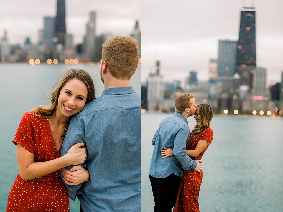 North Ave Beach Engagement Session