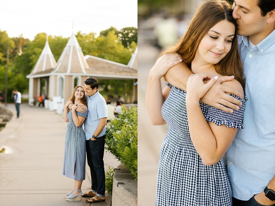 Prom Pose at Lake Harriet Engagement