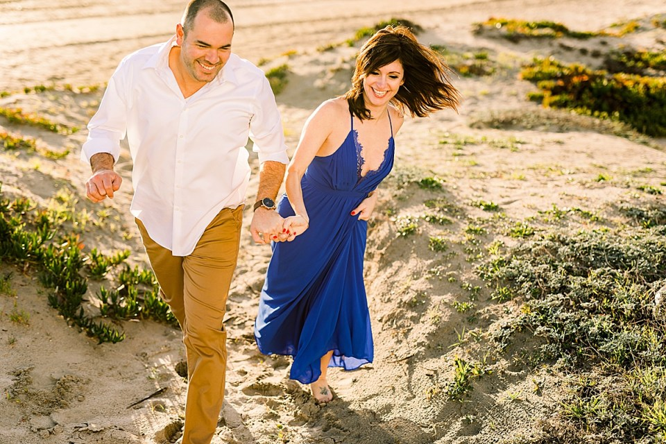Long Beach Engagement Session with makeup trial